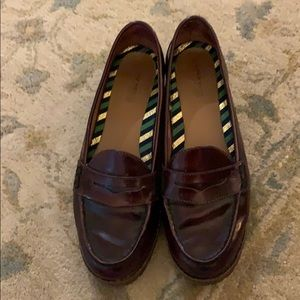 Sperry burgundy loafers 9.5